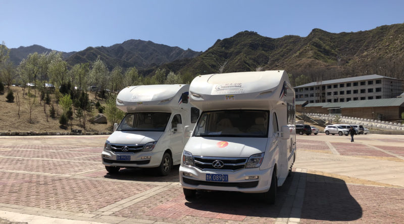 Motorhome tours China